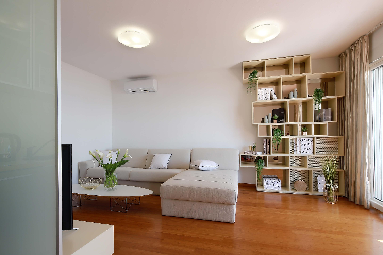 A4 living room - TV - decoration details