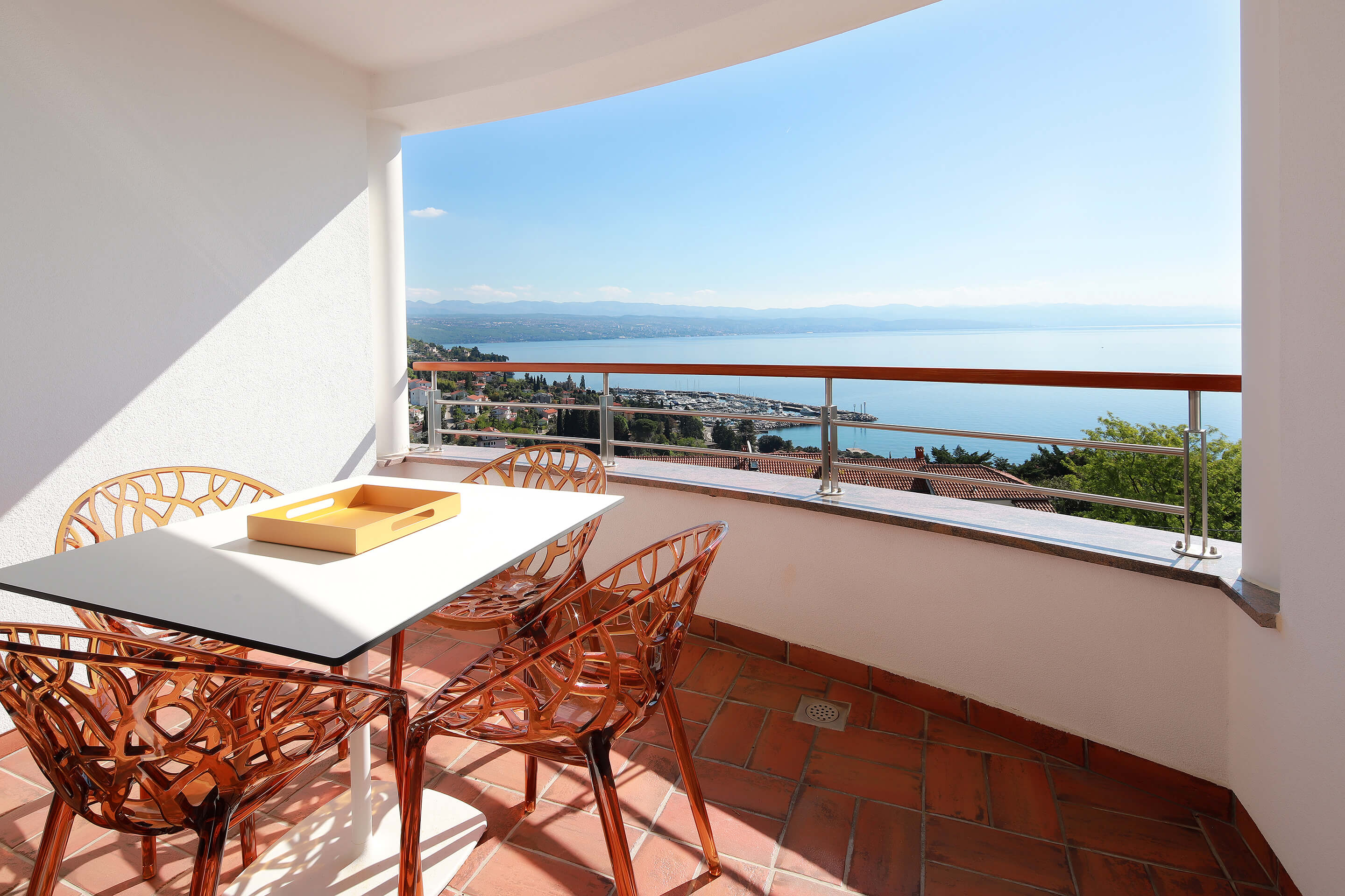 A5 - new luxury - balcony - sea view