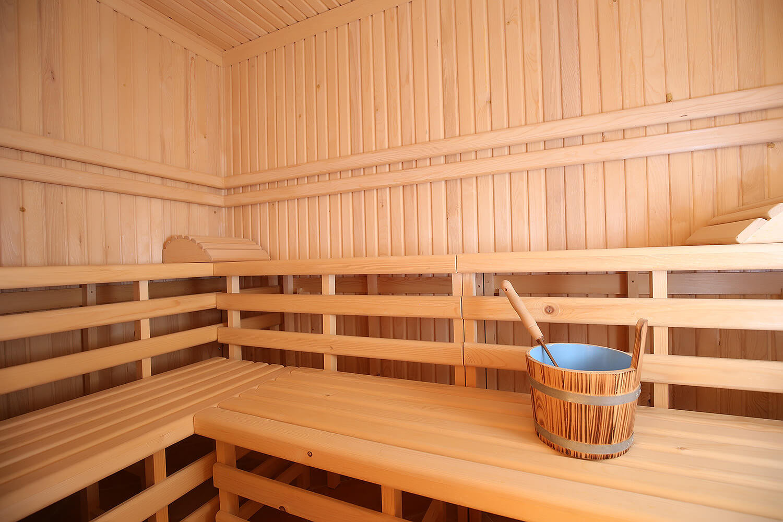 New luxury - indoor sauna